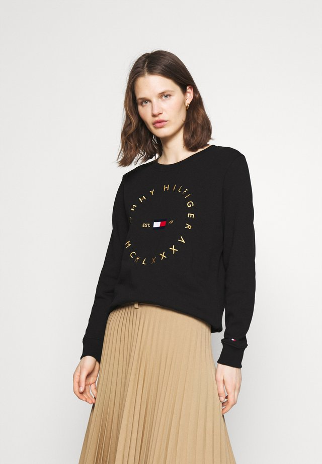 REGULAR CIRCLE  - Sweatshirt - black