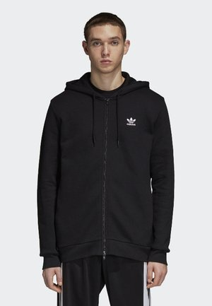 TREFOIL - veste en sweat zippée - black
