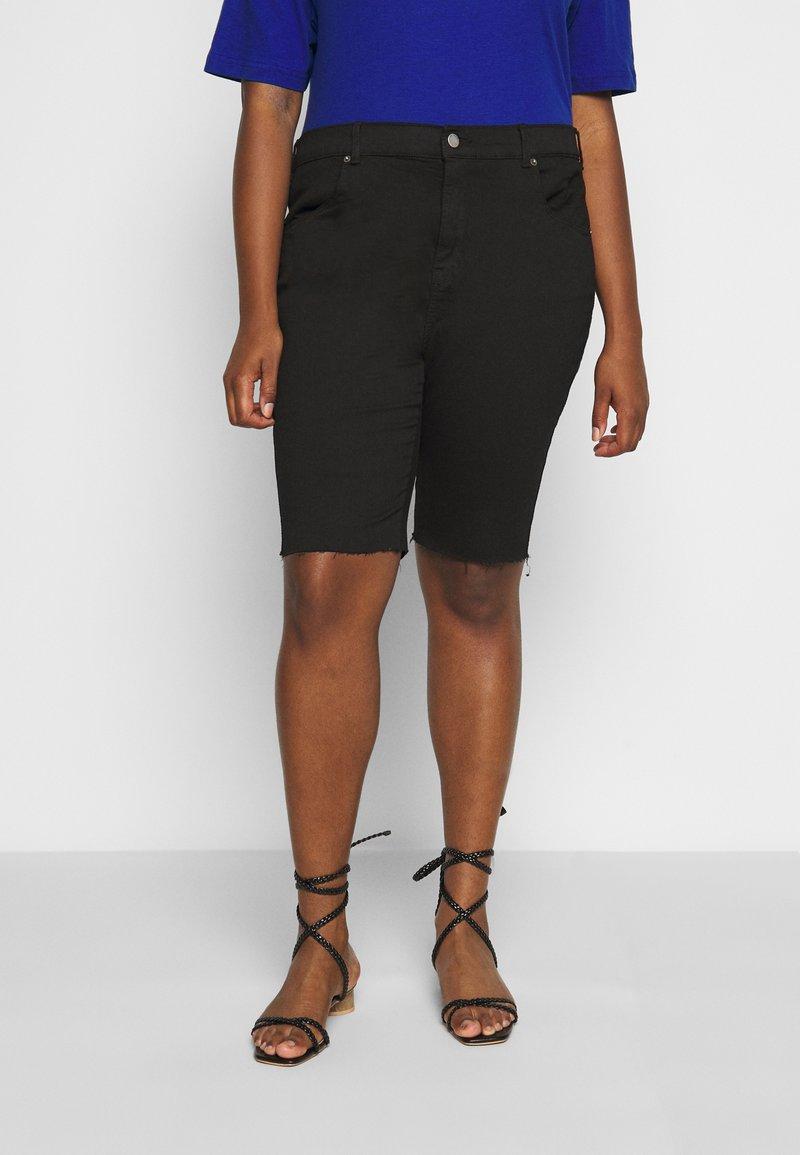 Dr.Denim Plus - LEXY - Denim shorts - black