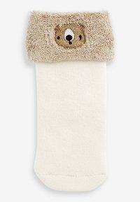 Next - 3 PACK  - Socks - light brown - 2