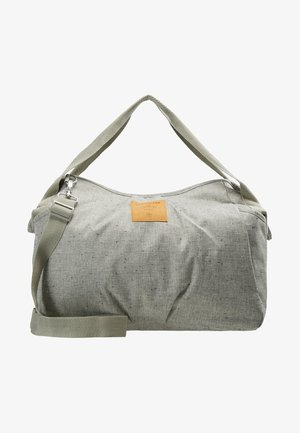 TWIN BAG - Baby changing bag - bouclé beige