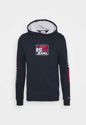 ESSENTIAL GRAPHIC HOODIE - Sweat à capuche - twilight navy