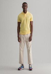 GANT - Polo shirt - brimestone yellow - 1