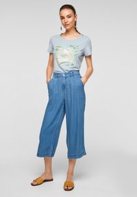 s.Oliver - LUCHTIGE - Straight leg jeans - blue lagoon - 1