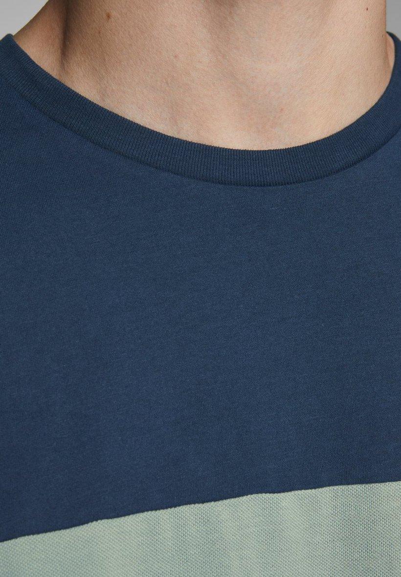 Jack & Jones Print T-shirt - navy blazer hAhf2