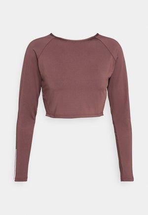 LONGSLEEVE - Camiseta de manga larga - rose brown