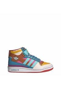 adidas Originals - FORUM MID ORIGINALS SNEAKERS SHOES - Zapatillas altas - pulse aqua/pink tint/sonic fuchsia - 9