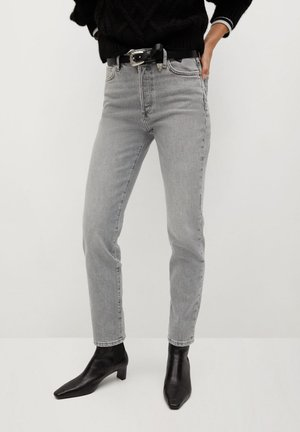 GISELE - Slim fit jeans - gris denim