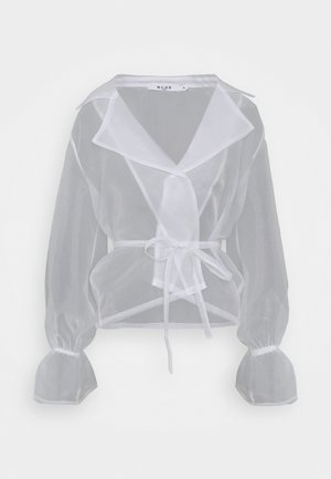 BALLOON SLEEVE BLOUSE - Bluser - white