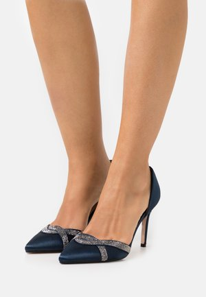 GLAMOUR 2 PART HEATSEAL COURT - Pumps - navy