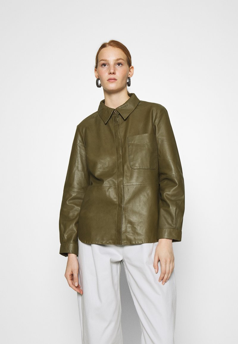 DAY Birger et Mikkelsen - AFTERNOON - Button-down blouse - forest