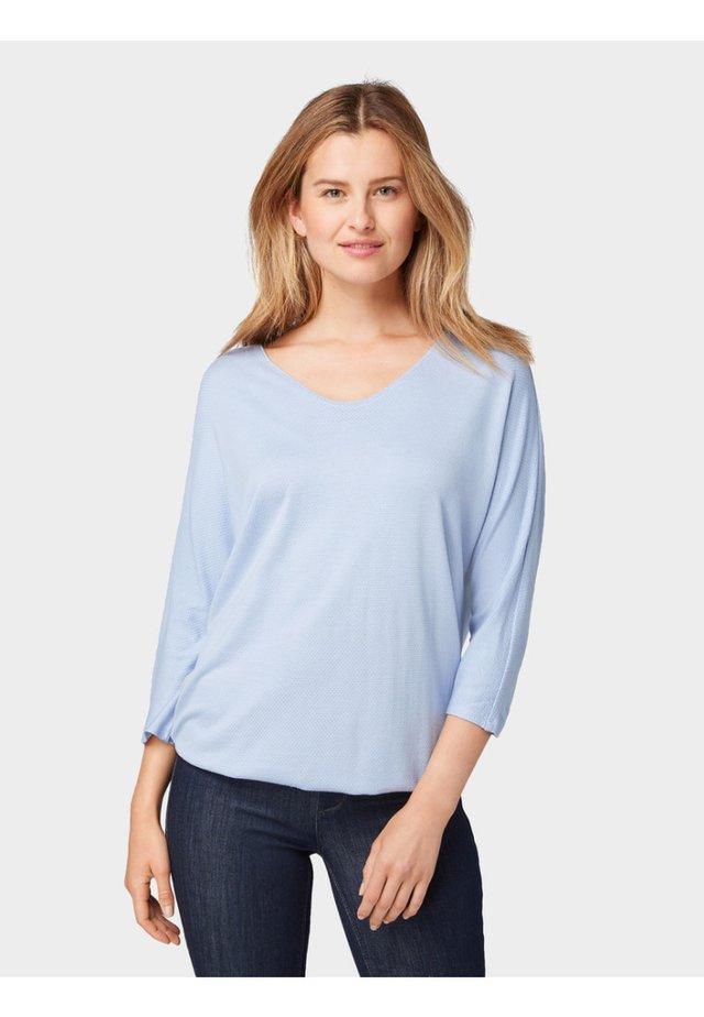 STRUCTURE - Bluzka z długim rękawem - light blue