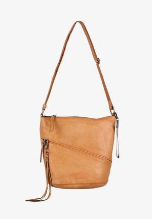 LILY - Across body bag - caramel
