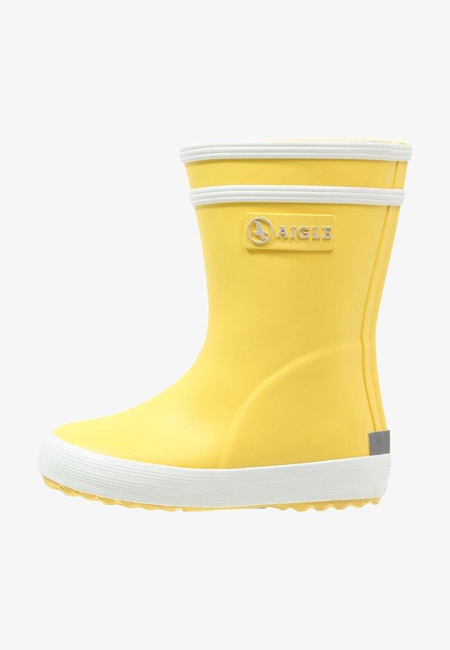 BABY FLAC UNISEX - Regenlaarzen - jaune