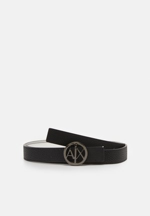 BELT WOMANS BELT - Belt - black/white