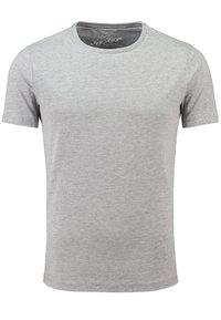 Key Largo - MT SPICY DOUBLE PACK - Basic T-shirt - silver melange - 1