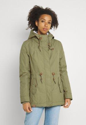 MONADIS - Winter coat - light olive