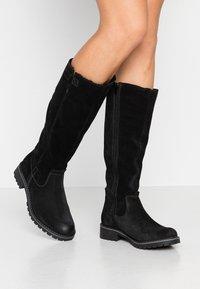 s.Oliver - Winter boots - black - 0