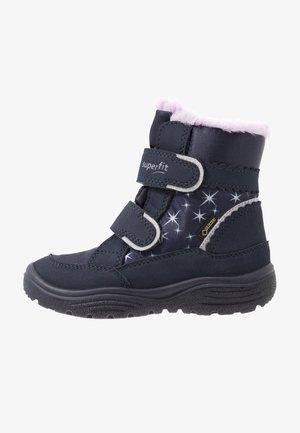 CRYSTAL - Winter boots - blau/lila