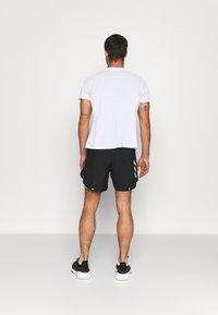 adidas Performance - SHORT - Pantalón corto de deporte - black/semi screaming green - 2