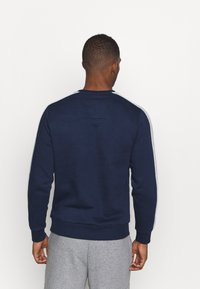Jack & Jones Performance - JCOZ SPORT CREW NECK - Sweatshirt - navy blazer - 2