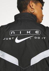 Nike Sportswear - STREET - Training jacket - black/pure platinum/white - 6