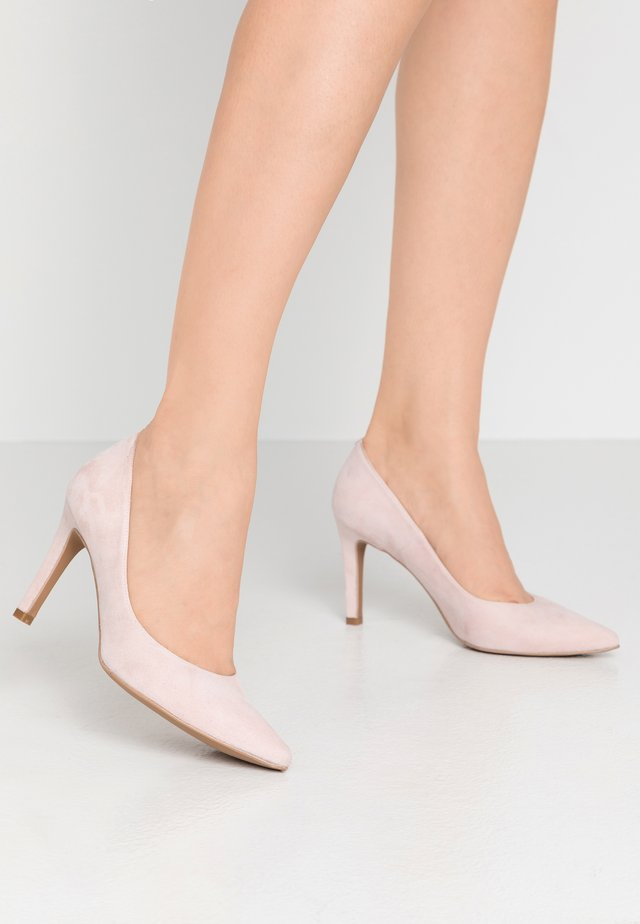 INES - Højhælede pumps - light rose