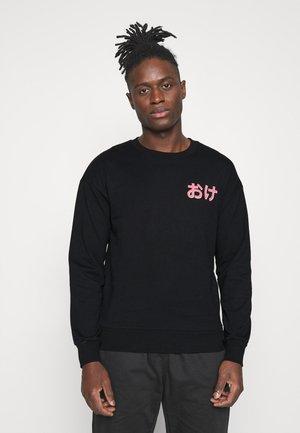 JORPAUL CREW NECK - Sweatshirt - black