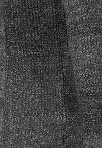 Jack & Jones PREMIUM - JPRBLAFREE OPEN CARDIGAN - Strikjakke /Cardigans - dark grey melange - 2