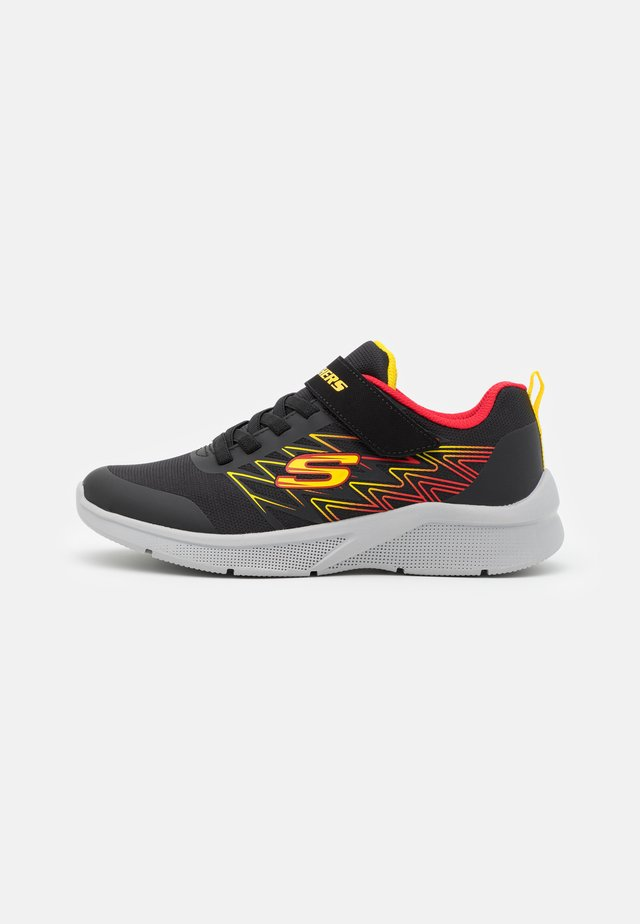 MICROSPEC - Joggesko - black/red/yellow