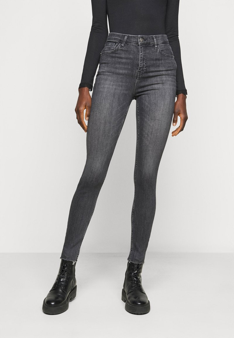River Island Tall - Straight leg jeans - grey