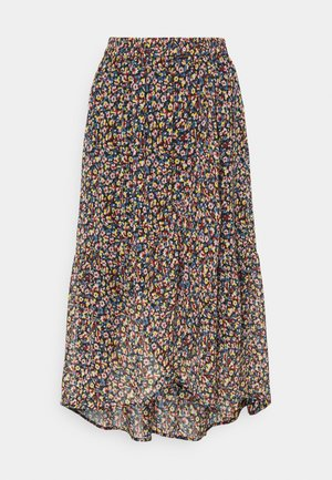 PCMACYA SKIRT - A-linjainen hame - black/misty rose