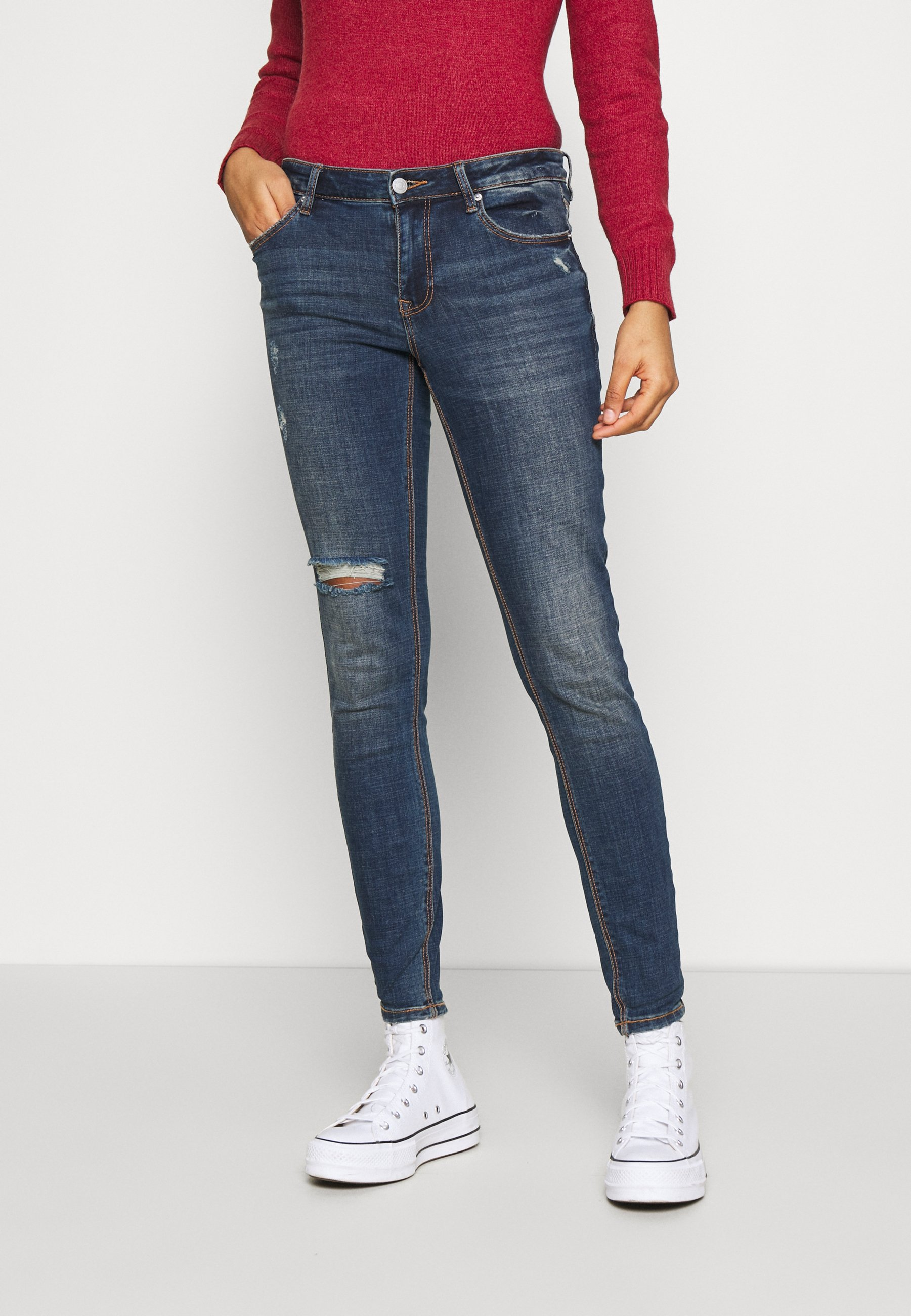 Donna VMLYDIA SKINNY - Jeans Skinny Fit