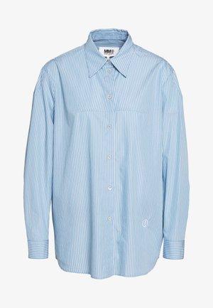 CLASSIC STRIPE - Skjortebluser - ice blue