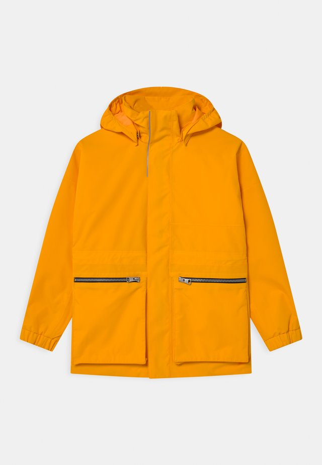 KEMPELE UNISEX - Giacca outdoor - orange yellow