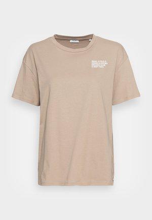 SHORTSLEEVE ROUNDNECK - Print T-shirt - rocky road