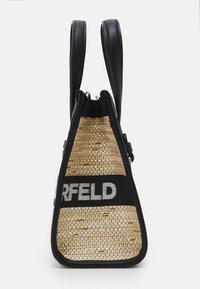 KARL LAGERFELD - SKUARE SMALL LOGO TOTE - Across body bag - black - 4