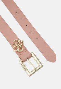 Guess - NOT ADJUSTABLE PANT BELT - Belt - blush - 1