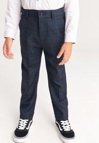 Next - BAKER BY TED BAKER - Oblekové kalhoty - dark blue - 0