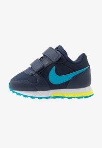 Nike Sportswear - RUNNER 2 - Baskets basses - midnight navy/laser blue/lemon/white - 1