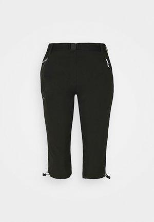 CAPRI LIGHT - Pantaloncini 3/4 - black