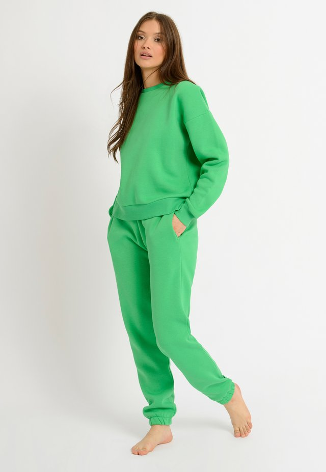 NYC LOUNGE GREEN SWEATER - Sweatshirt - green