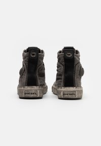 Diesel - ASTICO S-ASTICO MID LACE - High-top trainers - gunmetal - 2