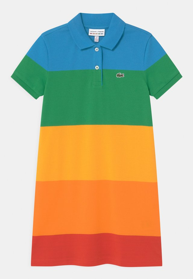 LACOSTE X POLAROID - Day dress - corrida/orpiment/gypsum/malachite/fiji