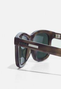 Gucci - UNISEX - Sunglasses - havana/green - 4