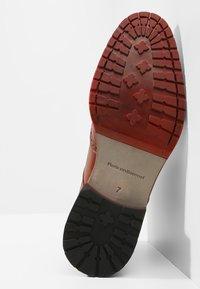 Floris van Bommel - ROSSI - Lace-up ankle boots - dark cognac - 4