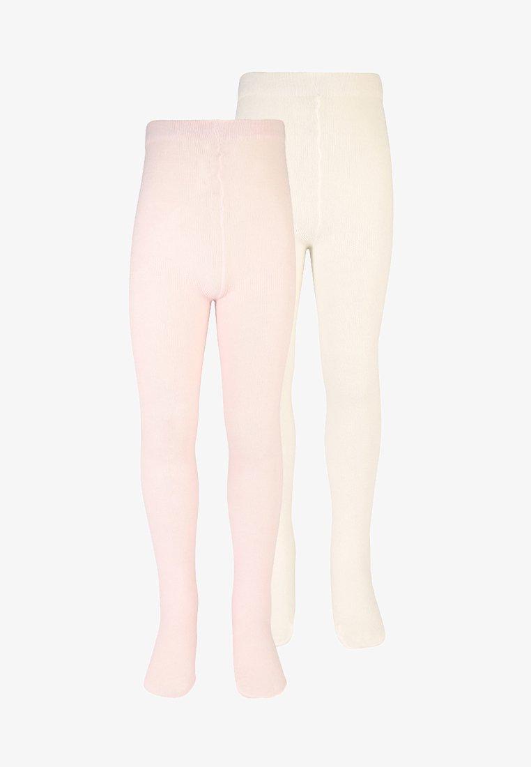 Benetton - BASIC 2 PACK - Collant - rose/white