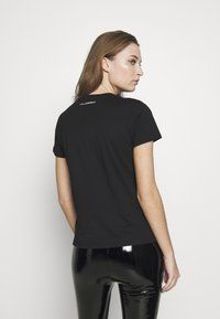 KARL LAGERFELD - 54 LOGO  - Print T-shirt - black - 2