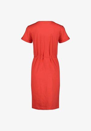 ANGELA REGULAR DRESS - Jersey dress - orange (33)