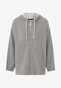 OYSHO - Zip-up hoodie - light grey - 6